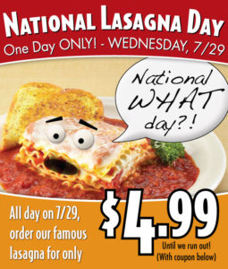 lasagna_day